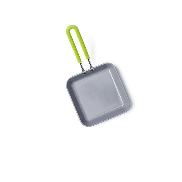 GreenPan Mini Essentials Ceramic Square Egg Frying Pan | Ocado