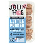 The Jolly Hog Little Porker Chipolata Sausages
