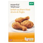 Essential Waitrose Southern Fried Drum & Thighs