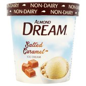 Almond Dream Salted Caramel Non Dairy Ice Cream