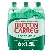 Brecon Carreg Natural Sparkling Mineral Water