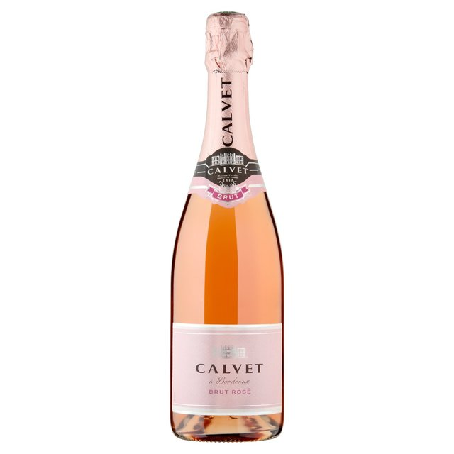Calvet Cremant Bordeaux Brut Rose 75cl From Ocado