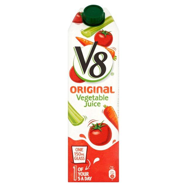 V8 Original Vegetable Juice   Ocado