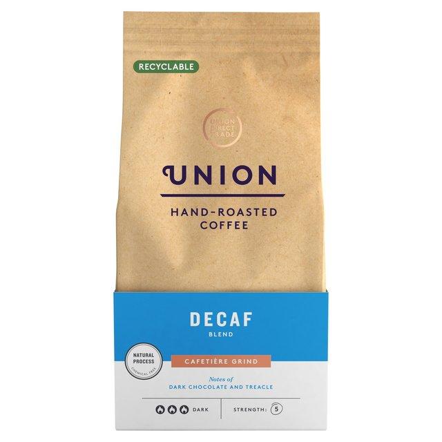 union coffee dark roast decaf cafetiere grind blend 200g. Black Bedroom Furniture Sets. Home Design Ideas