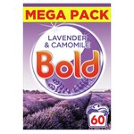 Bold 2in1 Washing Powder Lavender & Camomile 65 Washes