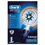 Oral-B PRO 5000 CrossAction Electric Toothbrush, Bluetooth Connectivity