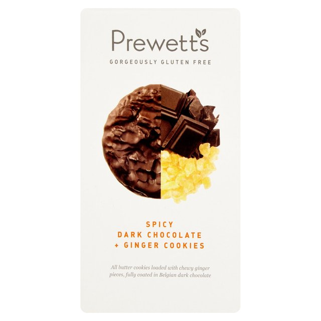 Prewetts Premium Chocolate & Ginger Cookies 150g from Ocado