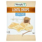 Simply7 Lentil Chips Sea Salt
