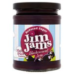 JimJams Reduced Sugar Blackcurrant Jam
