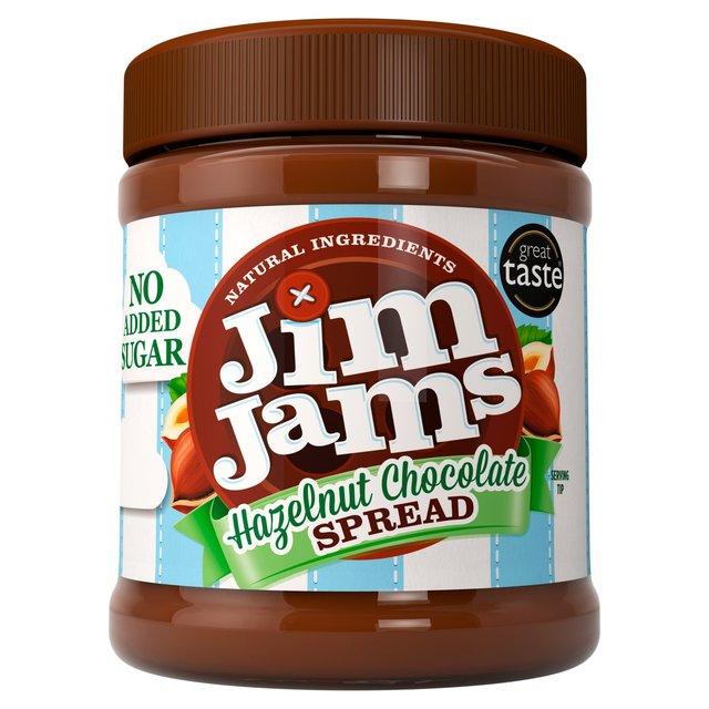 JimJams 83% Less Sugar Hazelnut Chocolate Spread   Ocado