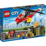 LEGO City Fire Response Unit 60108, 5yrs+