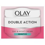 Olay Double Action Sensitive Moisturiser Day Cream