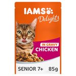 Iams Delights Senior Chicken in Gravy Pouch