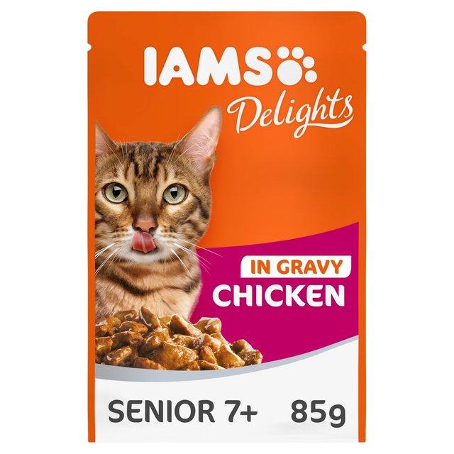 Iams Senior Cat Food Ingredients