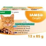 Iams Delights Meat & Fish in Jelly