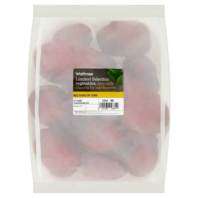 Waitrose Red Duke of York Potatoes