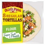 Old El Paso Regular Super Soft Flour Tortillas x8