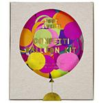 Meri Meri Multi Coloured Confetti Balloon Kit