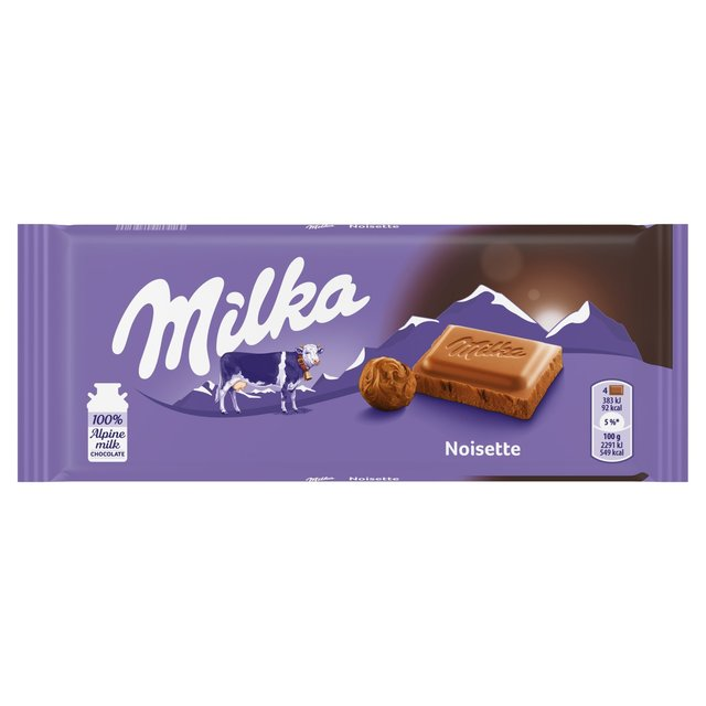 Milka Noisette Hazelnut Milk Chocolate Ocado