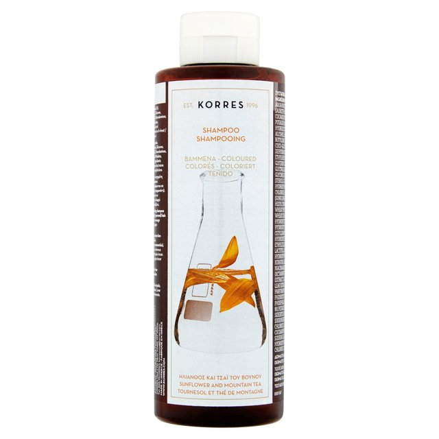 Korres Natural Shampoo Sunflower & Mountain Tea for Coloured Hair