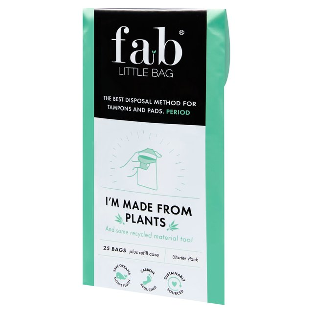 Fablittlebag Tampon Disposal Bag Starter Packs