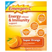 EMERGEN-C Orange Energy & Immunity Support Sachets