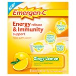 EMERGEN-C Lemon Energy & Immunity Support Sachets