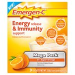 EMERGEN-C Energy & Immunity Support Sachets, Orange