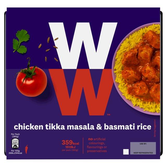 Weight Watchers Chicken Tikka Basmati Rice Ocado