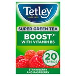 Tetley Super Green Tea Boost Berry Burst Tea Bags