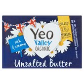 Yeo Valley Organic Unsalted Butter