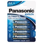 Panasonic Evolta AA Batteries Alkaline