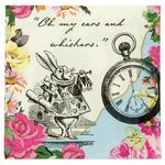 Talking Tables Truly Alice Paper Napkins, 25cm