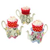 Talking Tables Truly Alice Teapot Cupcake Stands