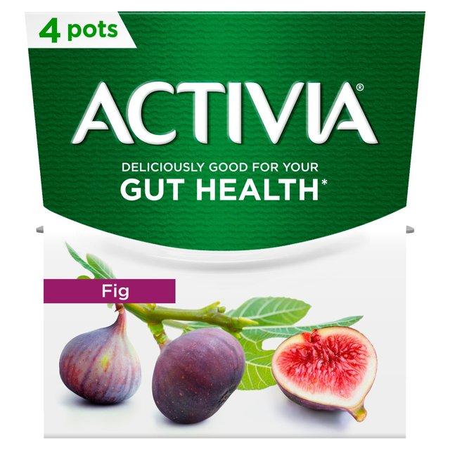 Activia Fig Yogurts | Ocado