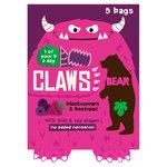 Bear Claws Blackcurrant Beetroot fruit crisps