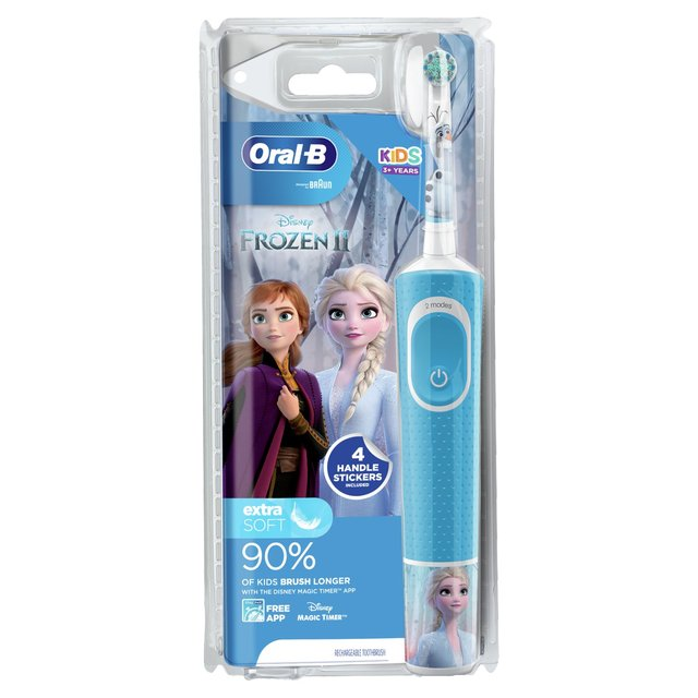 Oral B Vitality Kids Frozen Electric Rechargeable Toothbrush