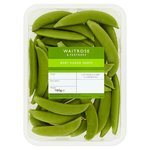 Waitrose 1 Baby Sugar Snap Peas