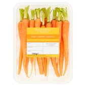 Baby Topped Carrots Waitrose