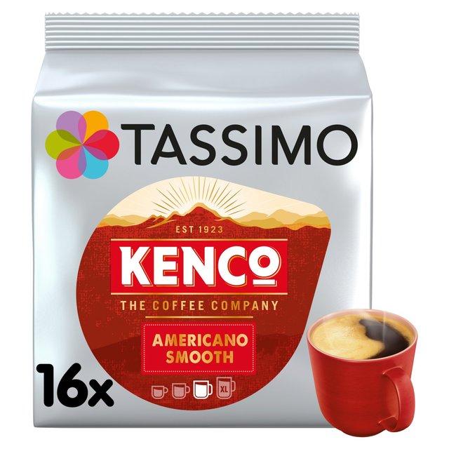 Tassimo Kenco Americano Smooth Coffee Pods Ocado