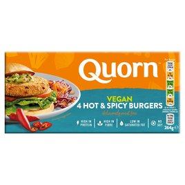 Quorn Vegan Hot & Spicy Burger | Ocado