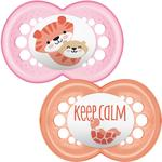 MAM Original 12+ Months Soother - Pink