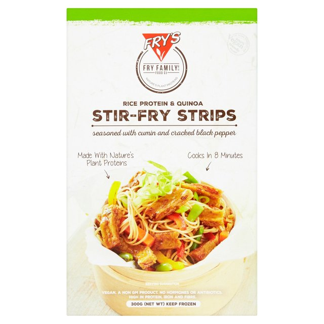 Fry's Family Foods Rice Protein & Chia Stir Fry Strips