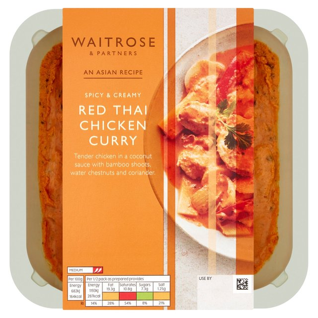 Red Thai Chicken Curry Waitrose