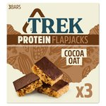 TREK Cocoa Oat Protein Flapjack Multipack