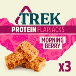 TREK Morning Berry Protein Flapjack Multipack