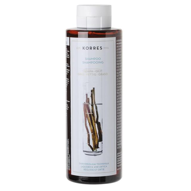 Korres Natural Shampoo Liquorice & Urtica for Oily Hair