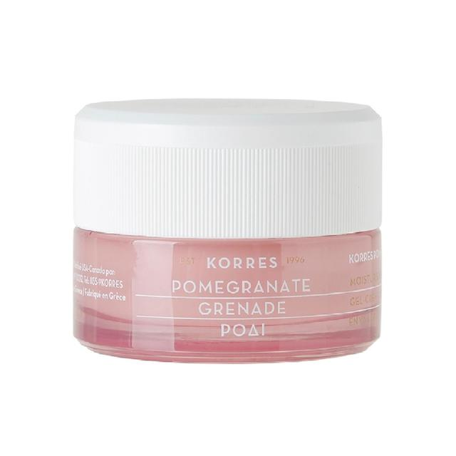 Korres Natural Pomegranate Balancing Moisturiser for Oily Skin, Vegan