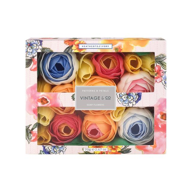 Heathcote & Ivory Patterns & Petals Soap Flowers