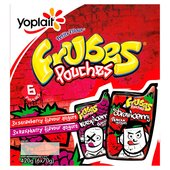 Frubes Pouches Strawberry & Raspberry Yogurts